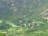 山脚下的小村庄