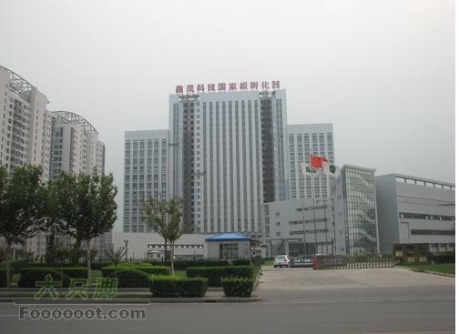 北京--京津塘高速--天津--GPS轨迹记录华苑产业区一隅
