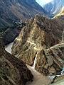 崎岖的峡谷