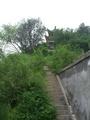 黄河边风景区里的小亭子