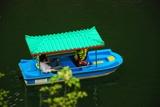 一叶舟,双龙峡,三游客