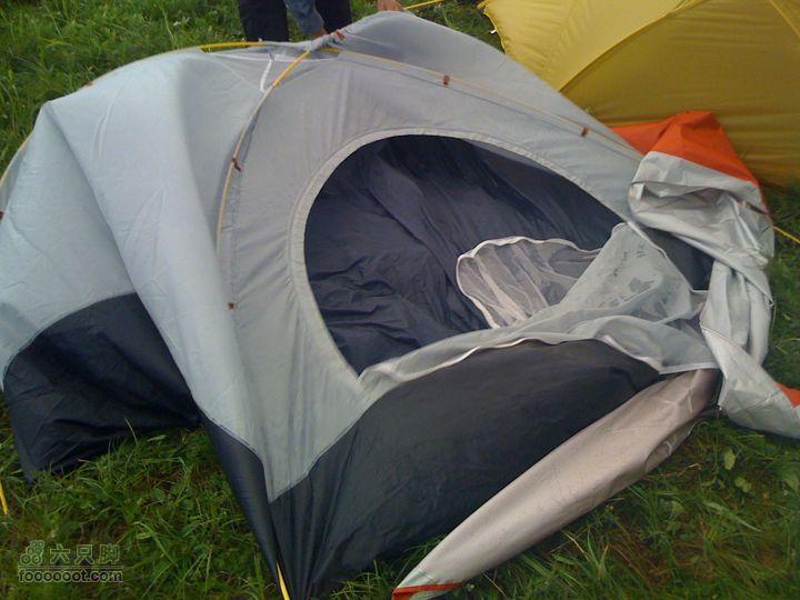 周末登海陀,半夜遭遇雷暴,8-9级狂风,幸免遇难被暴风摧毁的帐篷……