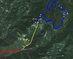 由南线步行上山的路(理论)