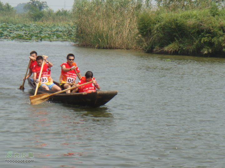第二届中国(下渚湖)湿地越野挑战赛GPS定向轨迹先是划船,再是GPS定向