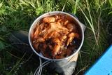 油焖大虾烩饼