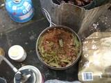腊肠豆角蒸饭