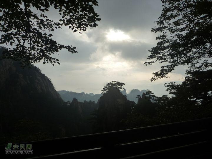 黄山西海大峡谷穿越始信峰雾景