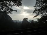 始信峰雾景
