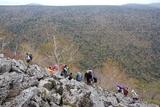 登顶前的白石砬子