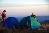 山顶的早晨