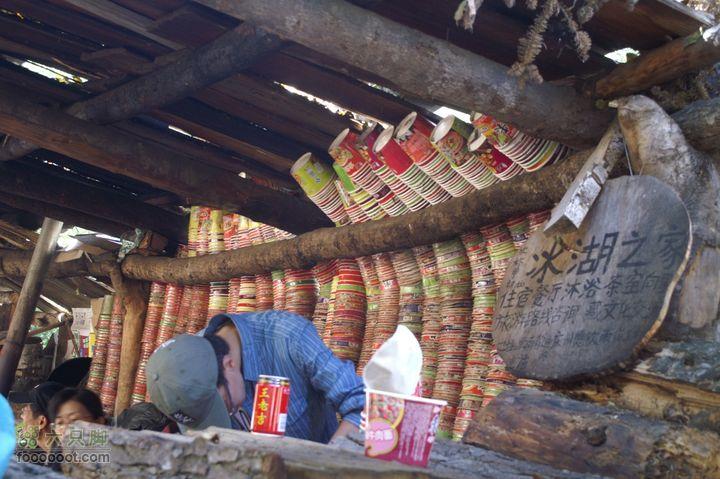 云南·徒步雨崩1:西当温泉-上雨崩沿途休息的小棚