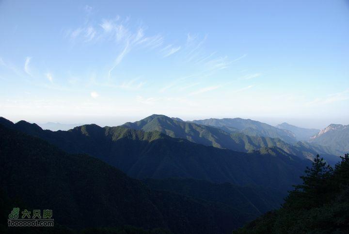 徒步徽杭古道--攀登清凉峰 IMGP6408