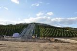 修建中的华国锋陵园