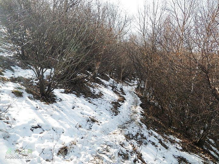 北灵山-无名1,2-实心楼-黄草梁-柏峪停车场初冬的山