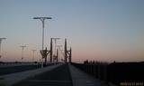 暮色中的南环大桥