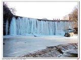 镇门峪的冰瀑