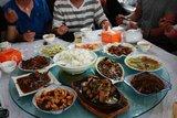 IMG_3362丰盛的晚宴,都是安徽特色菜肴