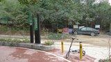绿道入口停车