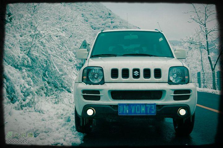 春天里北京下了一场冬天的雪------妙峰山踏雪寻玫秀一下。