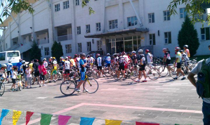 八达岭长城杯第二届北京国际自行车骑游大会延庆体育局检录处