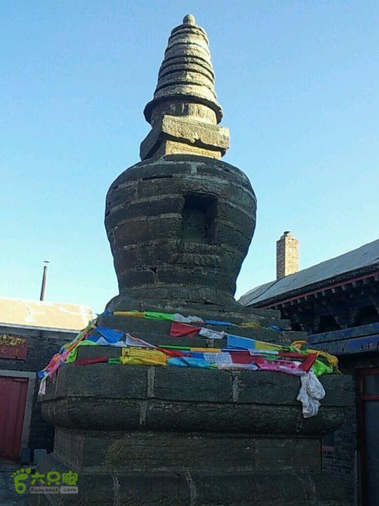 20120908山西大五台山两日,东台南台穿越东台寺的古塔
