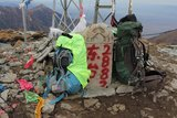 小五台最高峰东台2882米