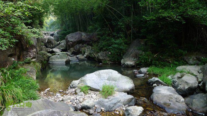 麻芝川_石垟_龙娘山_东山这里的水质还不错