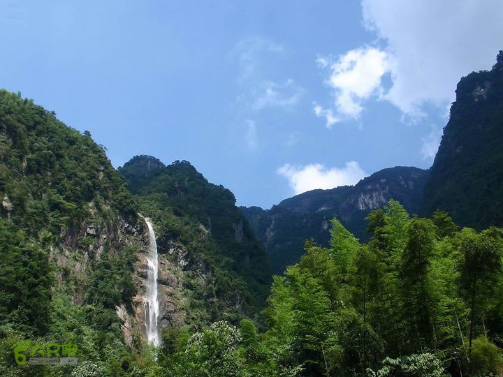 武功山明月山全线穿越(标注全)云谷飞瀑