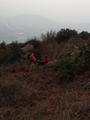2013-02-02 14:00:07 某位成员腿抽筋了!阳山