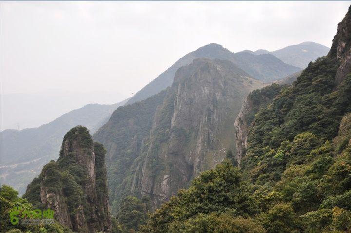 大化山-天竹岭-大化山(齐云山)圈越天竹岭