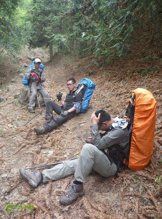 【杭州北风】浙江屋脊,千八穿越(带航点)虽然不怎么爬坡了,也得要休息休息