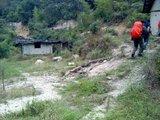 第一个羊场,新坊普乐分路口。
