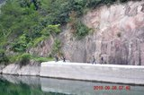 三渡溪水库溢洪道
