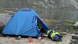 得莫错湖旁,我们第二天的营地
