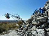 曼陀山顶敖包俯瞰来路,任何辛苦与欣悦归于寂灭。