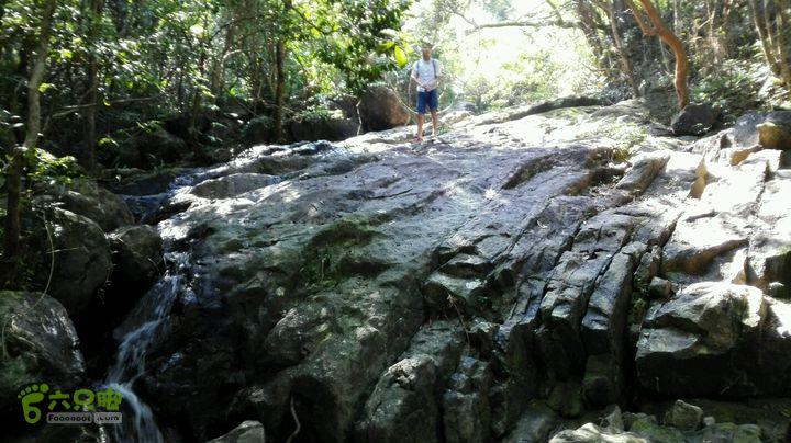 溯溪雁尾坑(左支)快到垭口