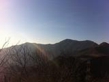 北尖阳台山脊
