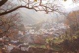 观景台看长溪村