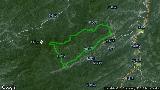 20160227大别山越野21公里路线