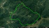 惠東大南山全程穿越 2018-01-01 跑步