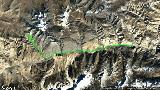 蒙達拉山口拍攝庫拉崗日群峰日落